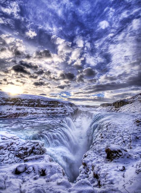 Gullfoss - Iceland | Interesses com asas e magia que nos liberte do peso rude do quotidiano | Scoop.it