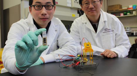 Sugar-powered biobattery has 10 times the energy storage of lithium: Your smartphone might soon run on enzymes | ExtremeTech | Entrepreneurship | Scoop.it