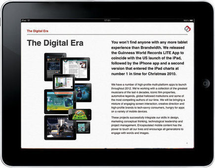 Brandwidth uses Apple iBooks Author to create an interactive promotional iBook for clients - News - Digital Arts | The many ways authors are using Apple's iBooks Author and iBooks2 | Scoop.it