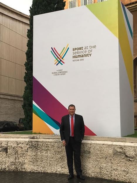 USF Alumnus Stephen Revetria attends conference in Rome, Italy | USF in the News | Scoop.it