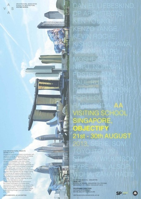 [Starchitecture]  VISITING AA School Singapore: 'Objectify' Workshop | The Architecture of the City | Scoop.it