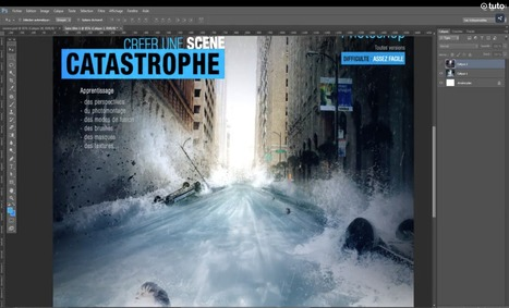 Compositing Photoshop : 10 vidéos illustrent le processus de A à Z | Formation en Publication Assistée par Ordinateur (PAO) Formation | Scoop.it