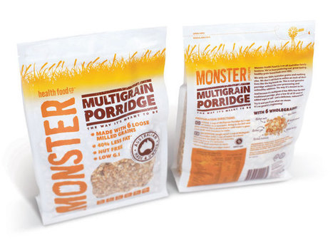 Before & After: Monster Health FoodCo. - The Dieline - | Eco Branding | Scoop.it