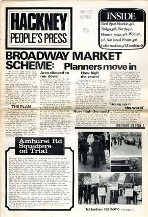 Hackney People's Press: interview with Charles Foster | The Radical ... | Weird and Wonderful East London | Scoop.it