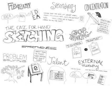 Hand-Sketching: Things You Didn't Know Your Doodles Could Accomplish - Smashing Magazine | Visual Thinking | Scoop.it