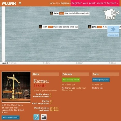 John [justfamilylawca] on Plurk | Divorce Attorney Orange County | Scoop.it