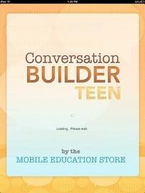 ConversationBuilder Teen App Review and Giveaway!   Speech-Language Pathology   Scoop.it