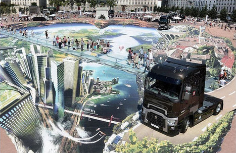 Massive 3D Street Art that Could Become a Guinness World Record | Art and Co | Scoop.it