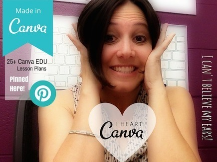 25+ EDU Lesson Plans and Resources for Canva | iPad Lessons | Scoop.it