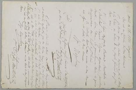 Les écrits de Napoléon flambent lors des ventes aux enchères | Sujets d'actualité | Scoop.it