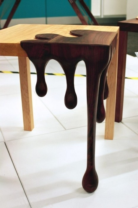 Chocolate art furniture-2 Fusion Tables | Hitchhiker | Scoop.it