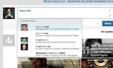 LinkedIn ajoute les mentions aux publications, à la manière de Facebook   Tout sur les réseaux sociaux   Agence Web Newnet   Actus des réseaux sociaux   Scoop.it