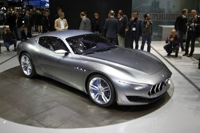Maserati Alfieri sports concept revealed | Autocar | Automotive and Transportation Design | Scoop.it