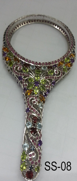 Sterling Silver Hand Mirror   Indian shaily crafts   Scoop.it