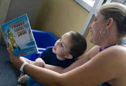 Students, parents get comfortable at Pershing Early Learning Center - Herald & Review | iPad and Early Learners | Scoop.it