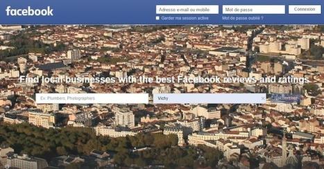Facebook lance son moteur de recherche local pour concurrencer Google Maps et Yelp...   Référencement, SEO, SEA   Scoop.it