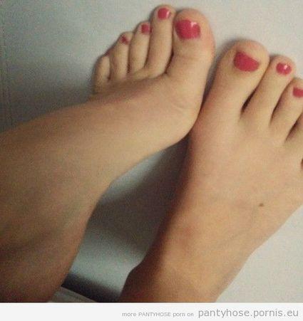 piedi e calze