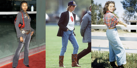 What Jeans Looked Like the Year You Were Born | Jeans Fashion | Scoop.it