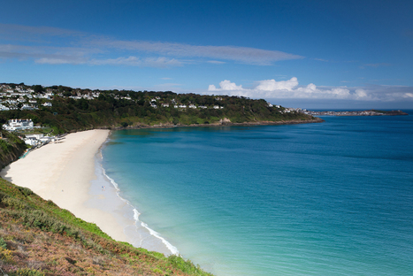 Enjoy Pristine Holidays at Cornwall's Only Blue Flag Beach at Carbis Bay near St Ives | St Ives in Cornwall | Scoop.it