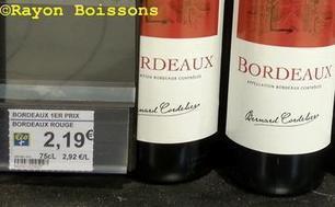 #Leclerc dévisse sur le bordeaux premier prix #Vins | Vos Clés de la Cave | Scoop.it