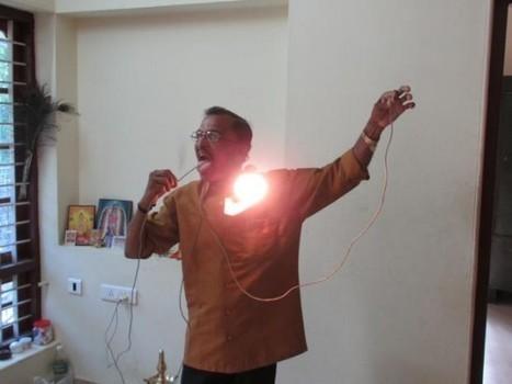 Meet Raj Mohan Nair – The Super-Human Immune to Electrecution | Strange days indeed... | Scoop.it