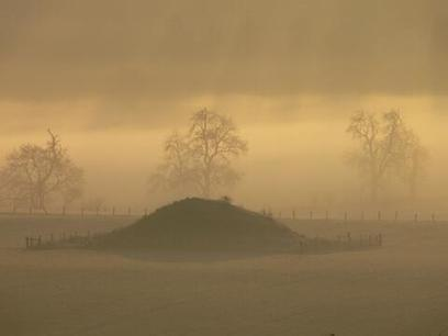 Twitter / irarchaeology: Morning mist rises above one ... | Ancient Burial Traditions | Scoop.it
