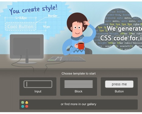 EnjoyCSS - best CSS generator | CSS3 Javascript JQuery HTML5 - node.js vert.x | Scoop.it