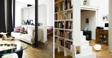 Comment gagner de la place dans un petit appartement !!! | Astuces pour une vie moins chère... | Scoop.it