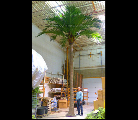 Outdoor Artificial Palm Tree - Coconut Palm Tree | Home Improvement - Landscaping | Scoop.it