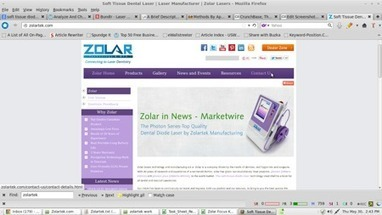 Zolar Technology & Mfg Co. Inc | CrunchBase Company Profile For Best Dental Lasers | Dental Supplies In Canada | Scoop.it