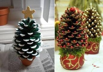 Christmas Tree Craft | Christmas Trees and More | Scoop.it