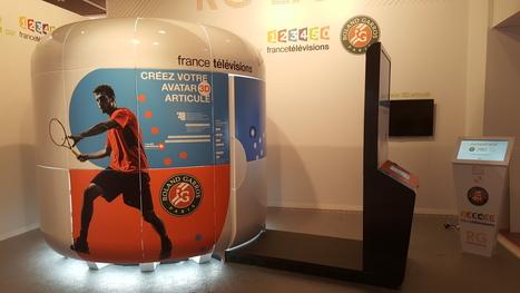Réalité Virtuelle : directs 360° en 4K et clonage virtuel à Roland Garros | Réalité augmentée, technologies, usages pédagogiques | Scoop.it