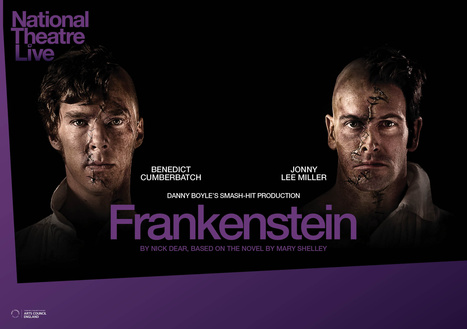 National Theatre Live's FRANKENSTEIN, Starring Benedict Cumberbatch and ... - Broadway World | Hammer Horror Podcast | Scoop.it
