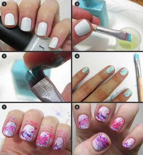 15 Beautiful Easy Nail Art Tutorials | Passion Of Fashion | Decoration | Scoop.it