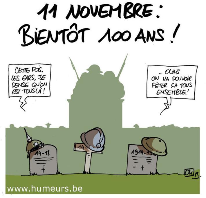 Dernier 11 novembre avant le centenaire du début de la première guerre mondiale ! | Baie d'humour | Scoop.it