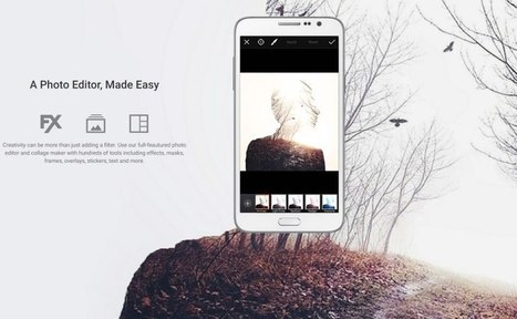 PicsArt.com Para editar imágenes en tu móvil como un verdadero profesional | Google Tresnak | Scoop.it