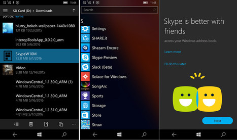 Skype Preview for Windows 10 Mobile is awesome, and you can install yourself   Tech Latest   Scoop.it