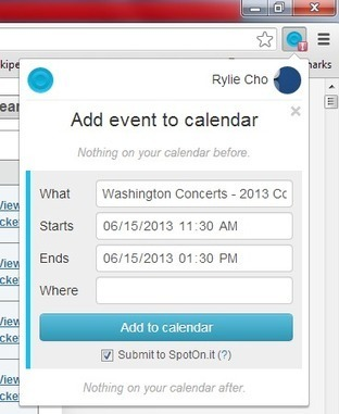 Add Events from Web Pages to Google Calendar [Chrome] | Time to Learn | Scoop.it
