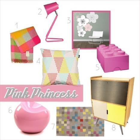 Des objets déco colorés pour une chambre de jeune fille | designit | Scoop.it