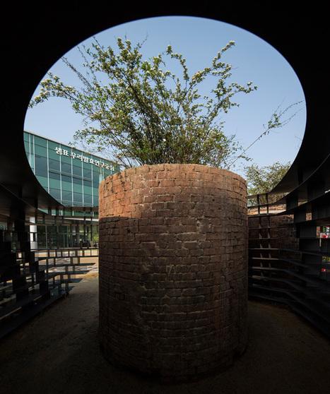 unsangdong architects compose stepped iron landscape - designboom | architecture & design magazine | Design&Architecture | Scoop.it