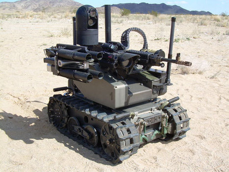 Robots May Replace One-Fourth Of U.S. Combat Soldiers By 2030 | World News | Scoop.it