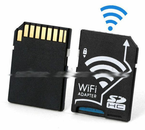 Wi-Fi SD Card Adapter for micro SD Cards Sells for $15 and Up | Embedded Systems News | Scoop.it