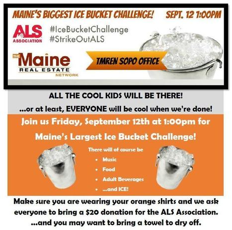 Maine's Biggest Ice Bucket Challenge | The Maine Real Estate Network | Scoop.it