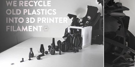 3D Print Objects Using Plastic From Old Car Dashboards — Dutch Startup 'Refil' Offers New Filament | Green construction and sustainable development practices | Scoop.it