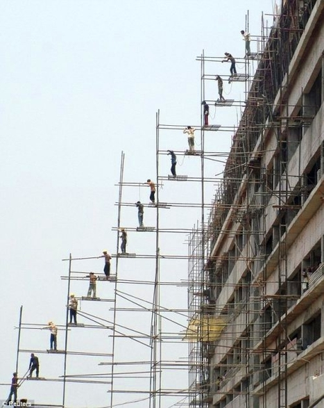 SCAFFOLDAGE | Rendons visibles l'architecture et les architectes | Scoop.it