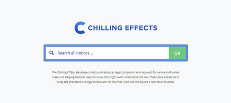 Chilling Effects, la web que te muestra toda la censura de internet - Noticias de Tecnología | #TRIC para los de LETRAS | Scoop.it