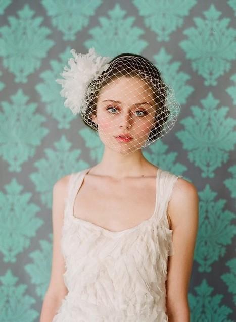Birdcage Bridal Veils - Bitsy Bride | Getting Married | Scoop.it