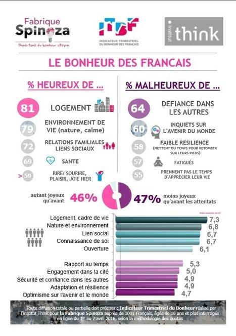 S'intéresser au PIB du BONHEUR des Français | Le BONHEUR comme indice d'épanouissement social et économique. | Scoop.it