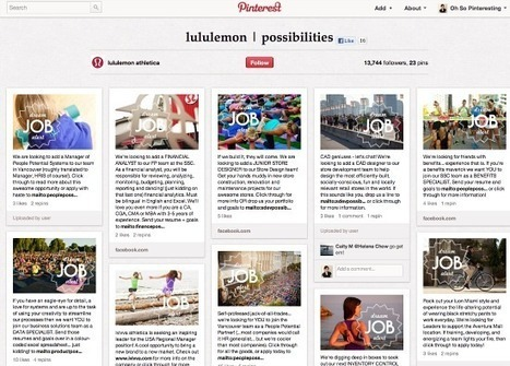 Using Pinterest to Lower the Unemployment Rate | Oh So Pinteresting | Pinterest | Scoop.it