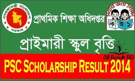 Primary Certificate Scholarship Result 2014 dpe.gov.bd | Bangladesh Education Board Result | Scoop.it
